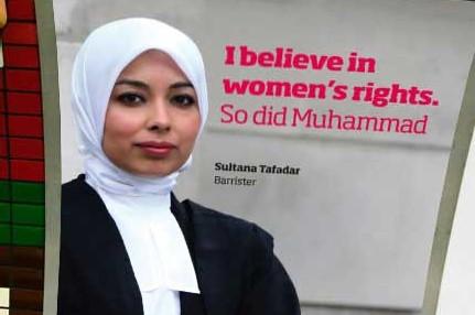 Kopftuchtragende Richterin in Großbritannien